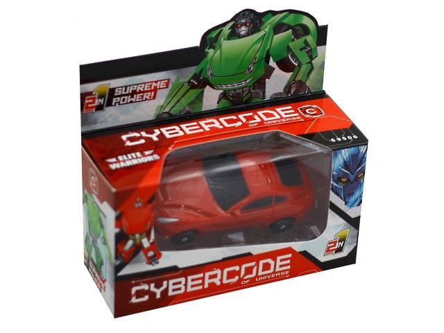 Трансформер 10см Drivebot Cybercode 69506