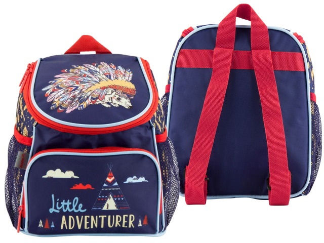 Рюкзак детский Kite Little Adventure 24*19*13см синий K18-535XXS-1