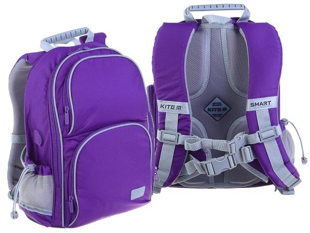 Ранец школьный Kite Smart 38*28*15см фиолетовый + подарок K19-702M-2