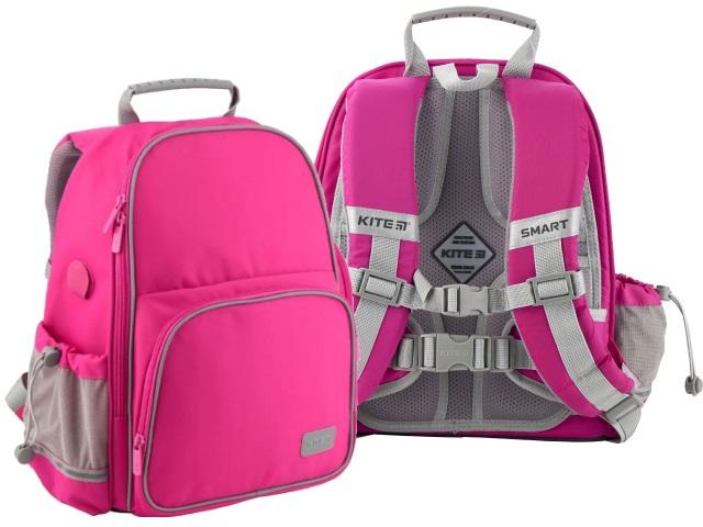 Ранец школьный Kite Smart 35*28*15см розовый + подарок K19-720S-1