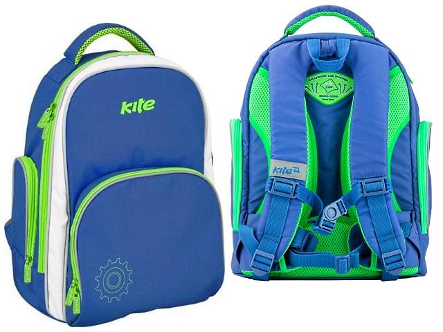 Ранец школьный Kite You can fly 36*30*19см голубой K17-705S-2