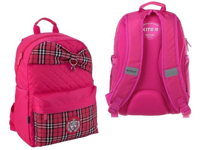 Ранец школьный Kite College Linе 38*26*11см розовый K19-719M-1