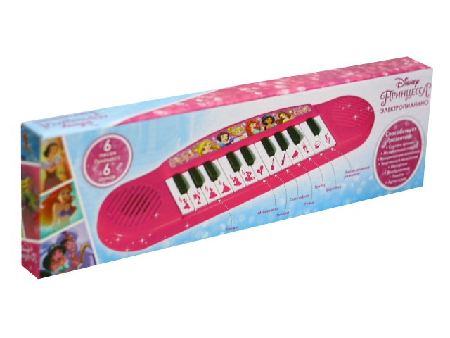 Пианино на батарейках Принцессы Дисней Умка B1378579-R2