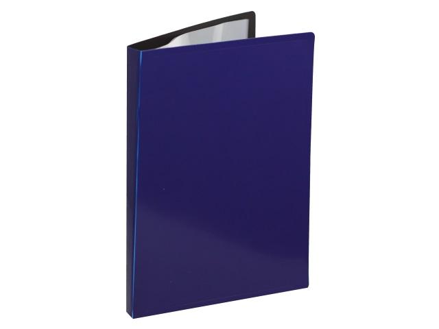 Папка с файлами  10ф А4 Бюрократ DeLuxe 0.7мм черничная DLV10bberry