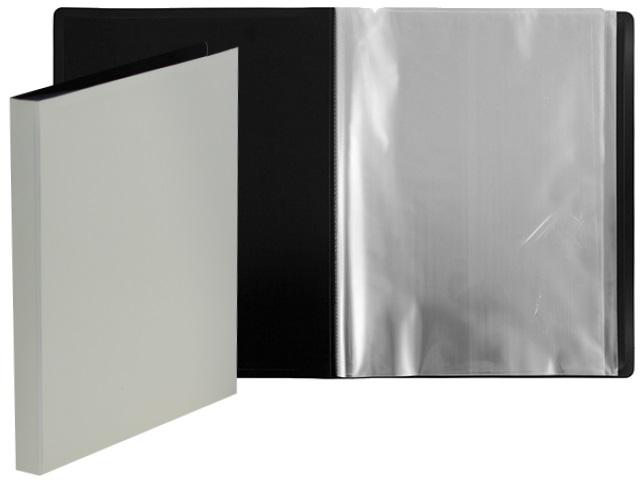 Папка с файлами  10ф А4 Бюрократ DeLuxe 0.7мм молочная DLV10milk