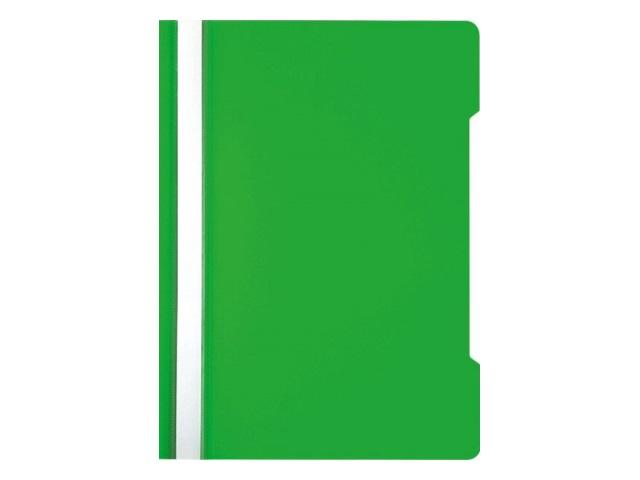 Скоросшиватель А4 Бюрократ зеленый глянцевый PSE20grn