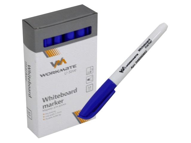 Маркер для досок Workmate синий круглый 5мм 048000802