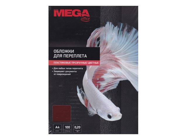 Обложки для брошюровки А4 ProMega 200мкм красные 100 шт. 254638