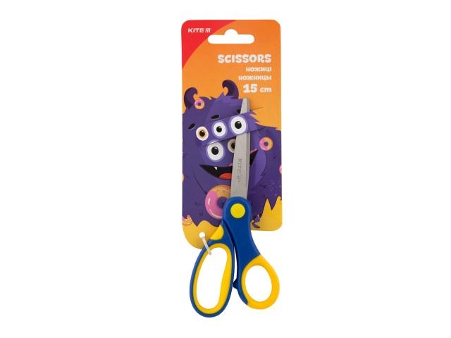 Ножницы детские 15 см Kite пластиковые ручки К19-126