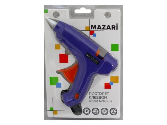 Термо-пистолет клеевой для стержня 11мм Mazari M-4385P