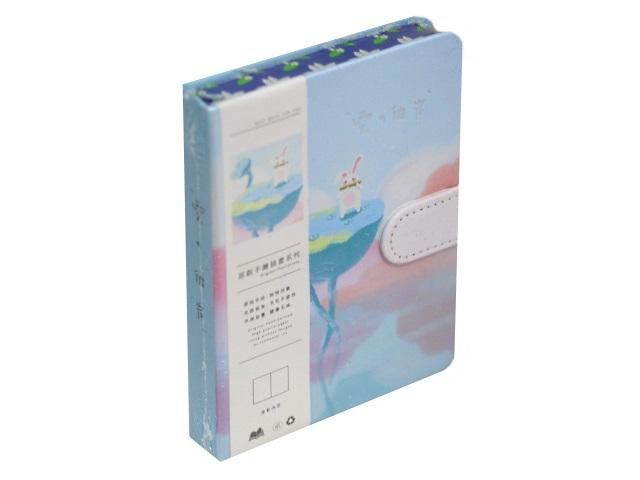Записная книжка А6 на магните тв/переплёт 128л Little Adventure Mazari M-3946