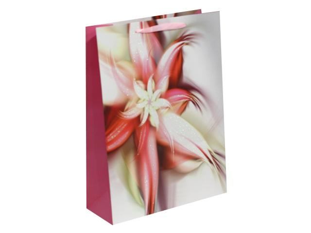 Пакет подарочный бумажный 42*31*12см Чарующий цветок Miland ПП-4198