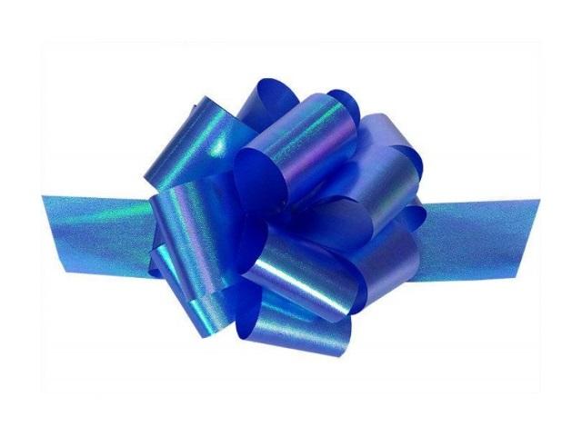 Бант-шар упаковочный 30мм Классика синий Miland БЛ-8018