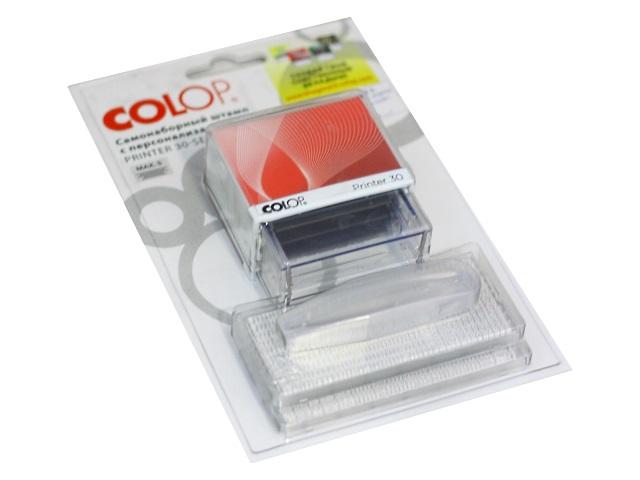 Штамп самонаборный  5 строк 47*18 мм 30-Set COLOP 396764