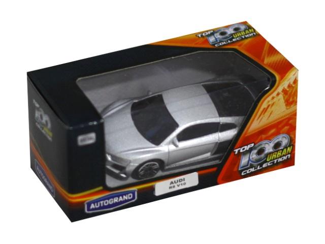 Машина металл Autogrand Коллекция ТОР-100 Urban ассорти 7см 49967