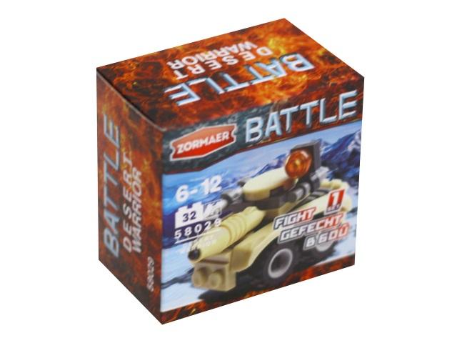 Конструктор  32 детали Воин пустыни Battle Zormaer 58029