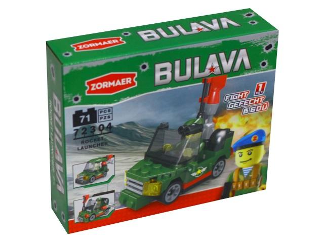 Конструктор   71-74 деталей Zormaer Army Tech Bulava ассорти 72304