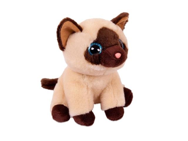 Мягкая игрушка Кот сиамский 14см ABToys M0078