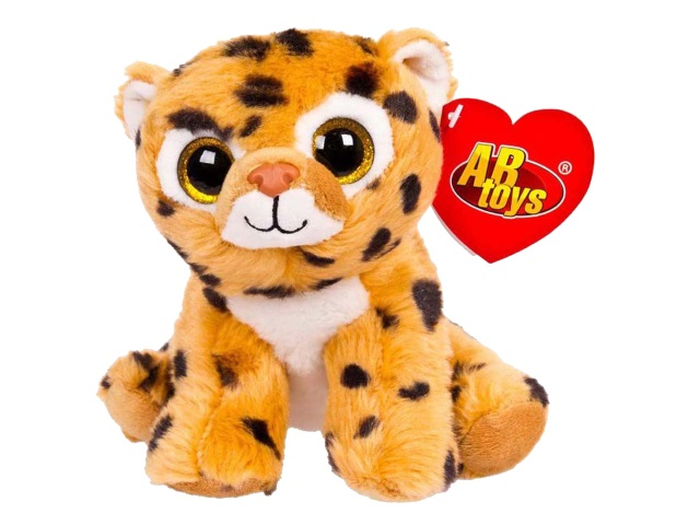 Мягкая игрушка Леопард 15см ABToys M0017