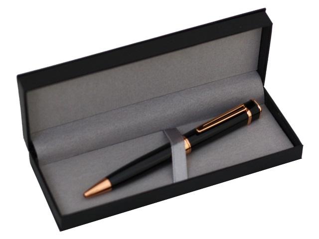 Ручка поворотная Mazari Valencia масляная B M-7589-70 металл синяя 0.7мм в футляре