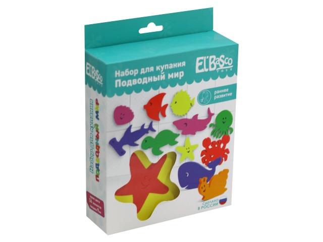 Игрушки для купания 16 шт. Подводный мир El`BascoToys 03-008