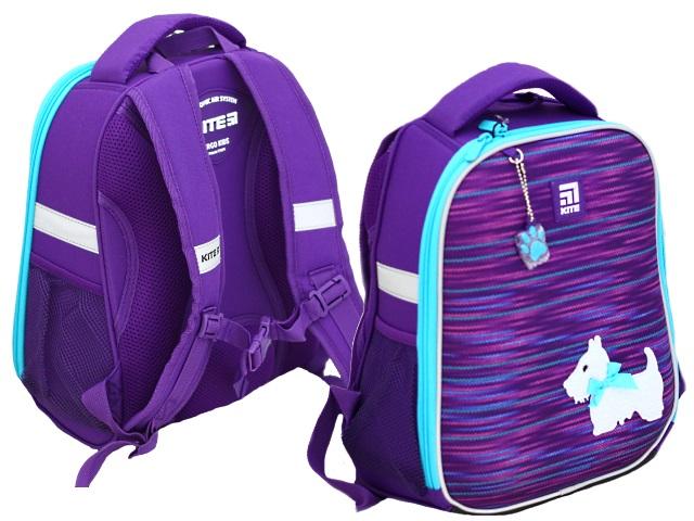 Ранец школьный Kite Cute Рuppy 35*26*13.5см фиолетовый K20-555S-3