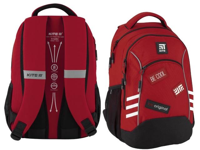 Рюкзак Kite Education 40*28*16см красно-черный K20-813M-1