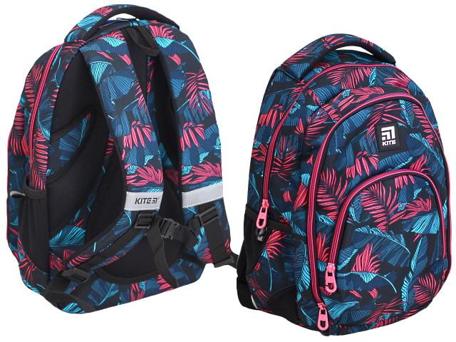 Рюкзак Kite Education 42*32*13см цветные листья K20-905M-1
