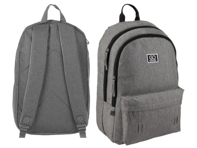 Рюкзак Kite GoPack Сity 44.5*29.5*14.5см серый GO20-140L-2
