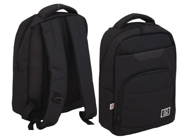 Рюкзак Kite GoPack Сity 44.5*29.5*14.5см черный GO20-144M-2