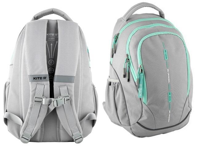 Рюкзак Kite Education Be Original 45*32*14см светло-серый K20-816L-3