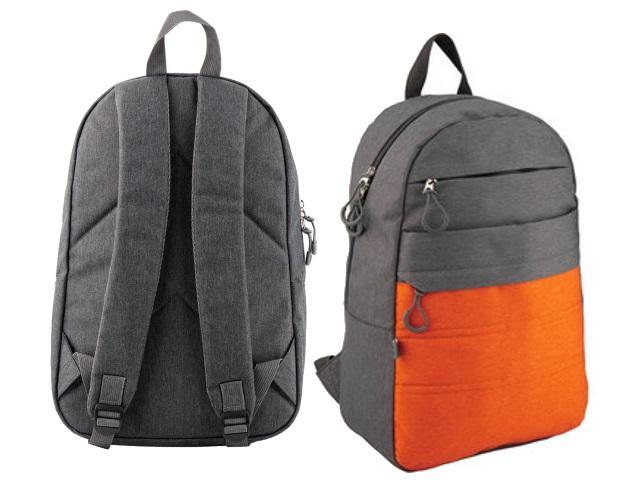 Рюкзак Kite GoPack Сity 44.5*29.5*14.5см серо-оранжевый GO20-118L-3