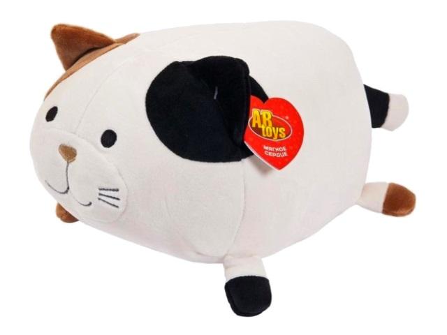 Мягкая игрушка Подушка Кошка 27см ABToys M2019