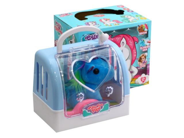 Мягкая игрушка Единорог 12см в переноске ABToys DR5010