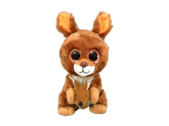 Мягкая игрушка Кенгуру 15см с детенышем ABToys M0049