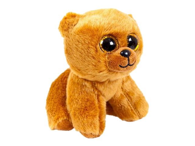 Мягкая игрушка Медведь бурый 14см ABToys M0069