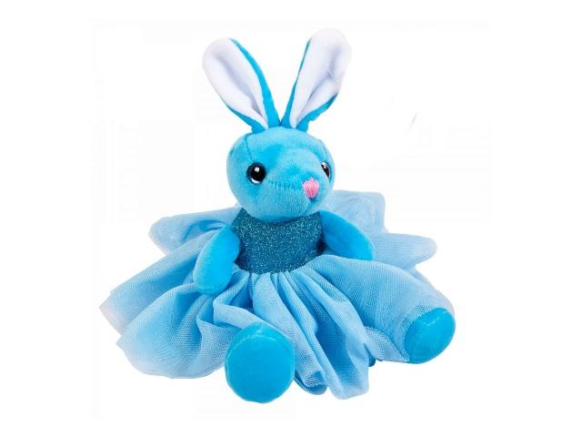 Мягкая игрушка Зайка в платье 20см ABToys M098