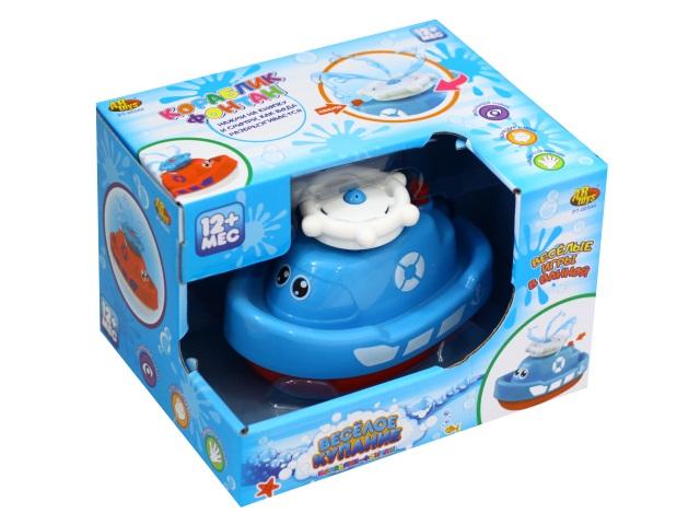 Игрушка для купания Веселое купание Кораблик-фонтан ABToys PT-00544