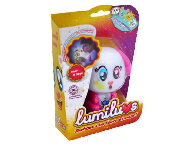 Ночник для малышей Lumiluvs Собака Coco малиновый LB0001A10
