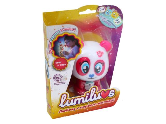 Ночник для малышей Lumiluvs Панда Bella красный LB0001A6