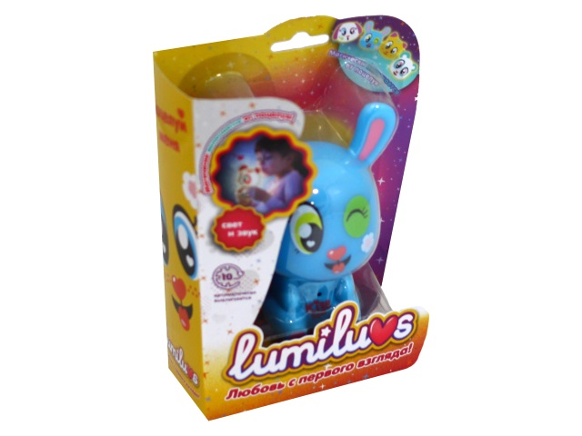 Ночник для малышей Lumiluvs Кролик Missy голубой LB0001A9