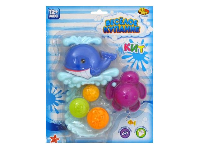 Игрушка для купания Веселое купание Кит-мельница PT-00529