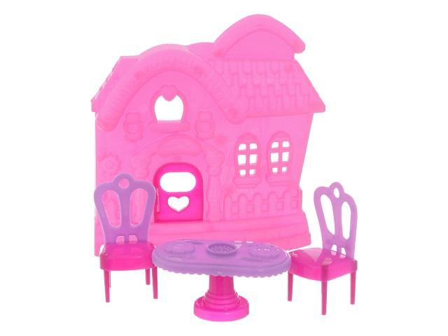 Дом для кукол  5 предметов Игромикс M6190