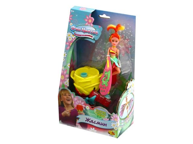 Кукла запускная Фея цветов Жасмин ABToys 52454