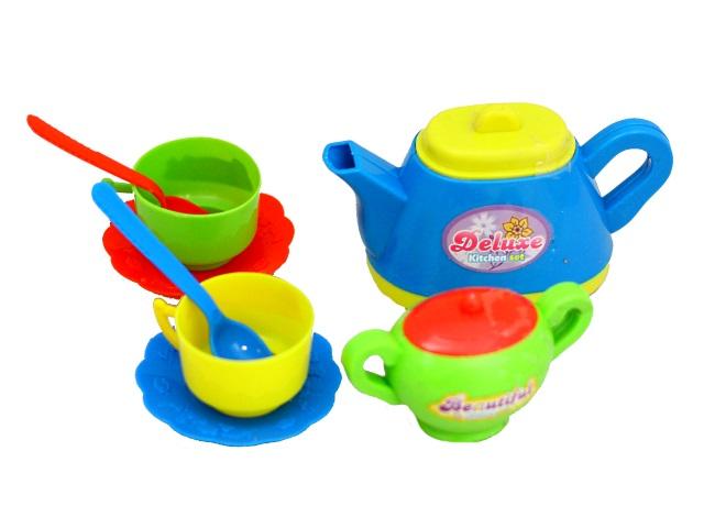 Посуда  8 предметов Кухонный набор Чаепитие Помогаю маме PT-00204