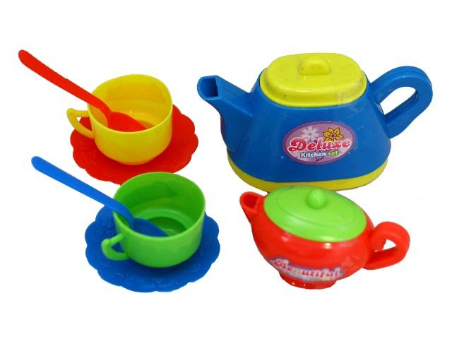 Посуда  8 предметов Кухонный набор Чаепитие Помогаю маме PT-00432