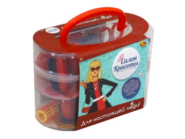 Парикмахерский набор 17 предметов Салон красоты в чемоданчике PT-00623