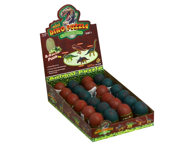 Сборная модель 3D Динозавр в яйце ассорти Shantou 72217