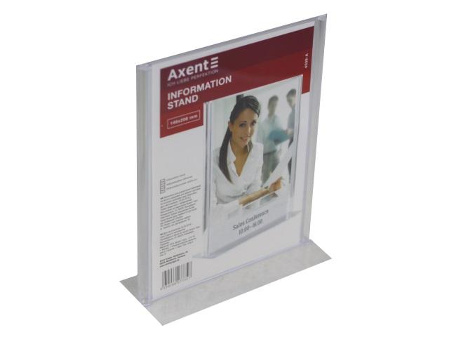 Табличка информационная А5 пластик Axent 4539