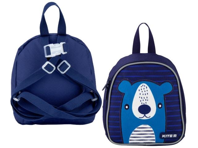 Рюкзак детский Kite Kids Blue bear 21*18*8см синий K20-538XXS-4